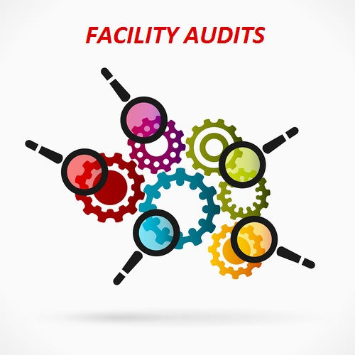 Abstract concept vector illustration with business audit